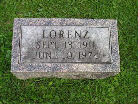 MENSCHING, LORENZ - Bremer County, Iowa | LORENZ MENSCHING