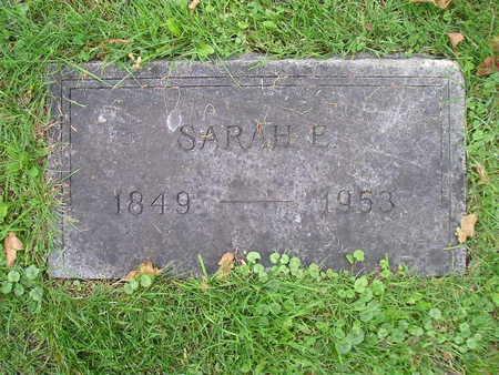 MESSINGER, SARAH E - Bremer County, Iowa | SARAH E MESSINGER