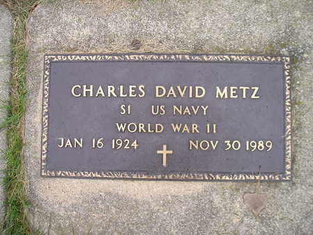 METZ, CHARLES DAVID - Bremer County, Iowa | CHARLES DAVID METZ