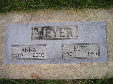 MEYER, ANNA - Bremer County, Iowa | ANNA MEYER