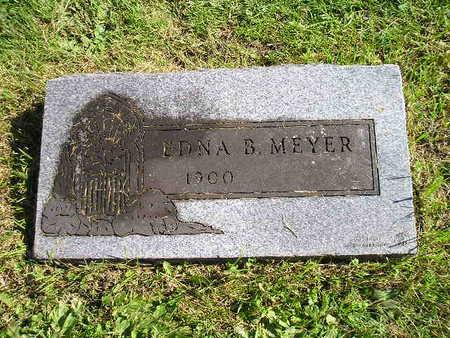 MEYER, EDNA B - Bremer County, Iowa   EDNA B MEYER