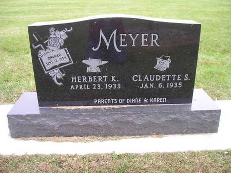 MEYER, HERBERT K - Bremer County, Iowa | HERBERT K MEYER