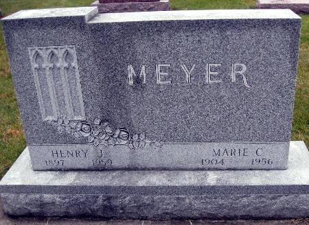MEYER, MARIE C - Bremer County, Iowa   MARIE C MEYER