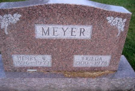 MEYER, FRIEDA - Bremer County, Iowa | FRIEDA MEYER