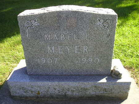 MEYER, MABEL L - Bremer County, Iowa | MABEL L MEYER