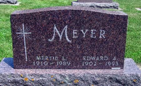 MEYER, MERTIE L - Bremer County, Iowa   MERTIE L MEYER