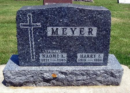 MEYER, NAOMI L - Bremer County, Iowa   NAOMI L MEYER