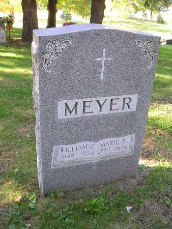 MEYER, WILLIAM G - Bremer County, Iowa | WILLIAM G MEYER