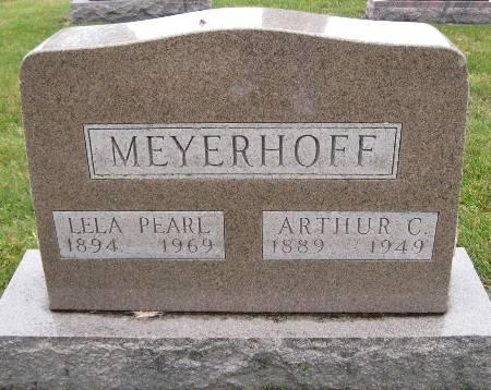 MEYERHOFF, ARTHUR C - Bremer County, Iowa   ARTHUR C MEYERHOFF