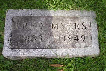 MEYERS, FRED - Bremer County, Iowa   FRED MEYERS