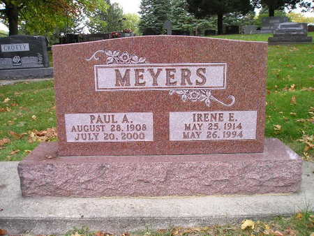 MEYERS, PAUL A - Bremer County, Iowa | PAUL A MEYERS