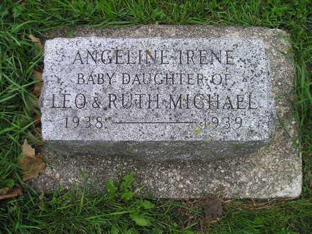 MICHAEL, ANGELINE IRENE - Bremer County, Iowa | ANGELINE IRENE MICHAEL