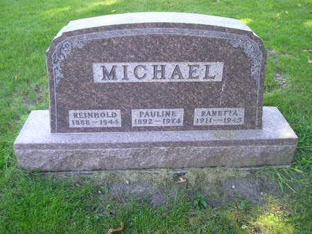 MICHAEL, PAULINE - Bremer County, Iowa | PAULINE MICHAEL