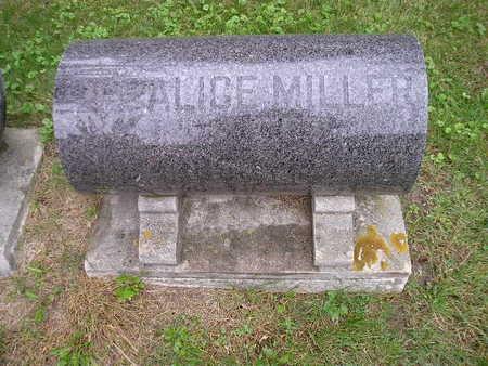 MILLER, ALICE - Bremer County, Iowa | ALICE MILLER