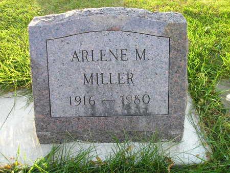 MILLER, ARLENE M - Bremer County, Iowa | ARLENE M MILLER