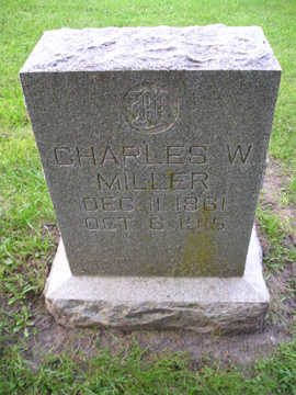 MILLER, CHARLES W - Bremer County, Iowa | CHARLES W MILLER