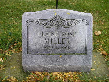 MILLER, ELAINE ROSE - Bremer County, Iowa | ELAINE ROSE MILLER