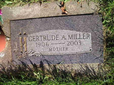 MILLER, GERTRUDE A - Bremer County, Iowa | GERTRUDE A MILLER