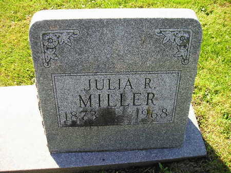 MILLER, JULIA R - Bremer County, Iowa | JULIA R MILLER