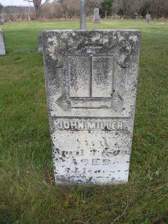 MILLER, JOHN - Bremer County, Iowa   JOHN MILLER