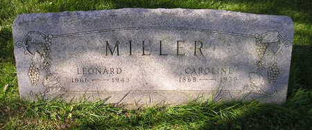 MILLER, CAROLINE - Bremer County, Iowa | CAROLINE MILLER
