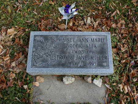 MILLER, MAISEY ANN-MARIE - Bremer County, Iowa   MAISEY ANN-MARIE MILLER