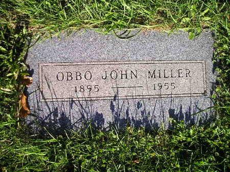 MILLER, OBBO JOHN - Bremer County, Iowa | OBBO JOHN MILLER