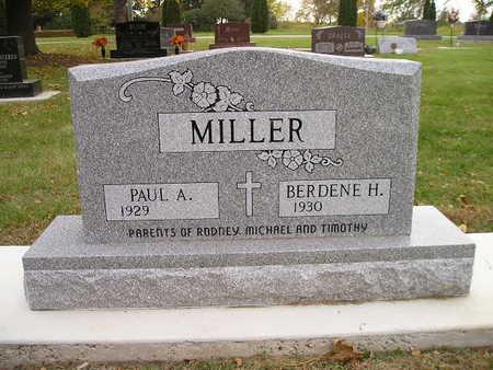 MILLER, BERDENE H - Bremer County, Iowa | BERDENE H MILLER