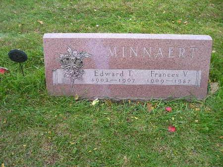MINNAERT, FRANCES V - Bremer County, Iowa | FRANCES V MINNAERT
