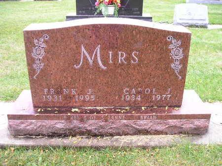 MIRS, FRANK J - Bremer County, Iowa | FRANK J MIRS