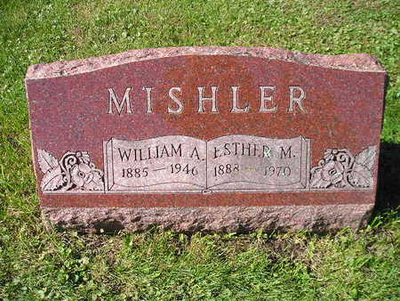 MISHLER, WILLIAM A - Bremer County, Iowa | WILLIAM A MISHLER