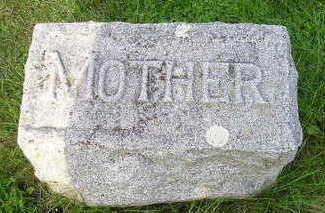 MITCHELL, MARY E (MOTHER) - Bremer County, Iowa   MARY E (MOTHER) MITCHELL