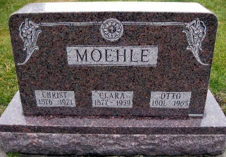 MOEHLE, CHRIST - Bremer County, Iowa   CHRIST MOEHLE