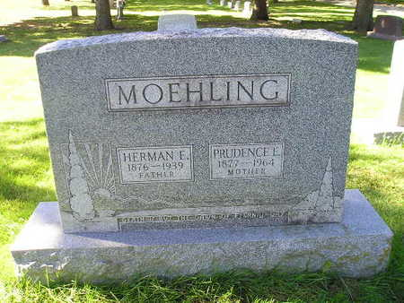 MOEHLING, PRUDENCE E - Bremer County, Iowa   PRUDENCE E MOEHLING