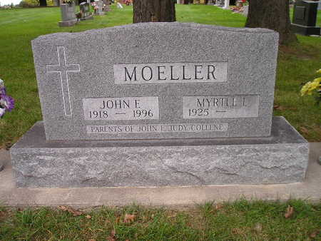 MOELLER, JOHN E - Bremer County, Iowa | JOHN E MOELLER
