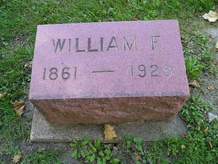 MOELLER, WILLIAM F - Bremer County, Iowa   WILLIAM F MOELLER