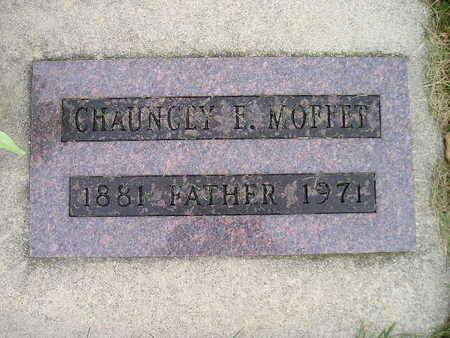 MOFFET, CHAUNCEY E - Bremer County, Iowa   CHAUNCEY E MOFFET