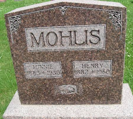 MOHLIS, MINNIE - Bremer County, Iowa   MINNIE MOHLIS