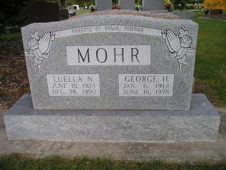 MOHR, GEORGE H - Bremer County, Iowa | GEORGE H MOHR