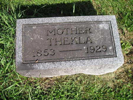 MOHR, THEKLA - Bremer County, Iowa | THEKLA MOHR
