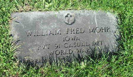 MOHR, WILLIAM FRED - Bremer County, Iowa | WILLIAM FRED MOHR