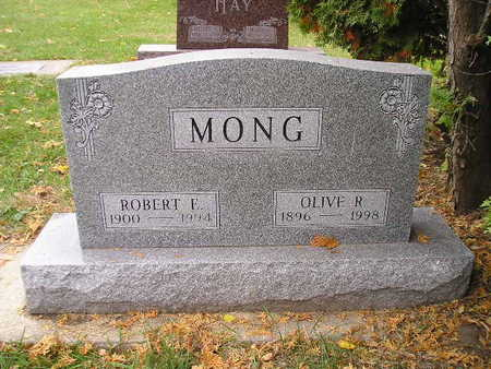 MONG, OLIVE R - Bremer County, Iowa | OLIVE R MONG