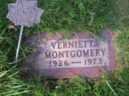 MONTGOMERY, VERNIETTA - Bremer County, Iowa | VERNIETTA MONTGOMERY