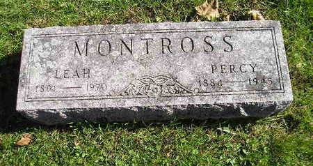 MONTROSS, PERCY - Bremer County, Iowa | PERCY MONTROSS
