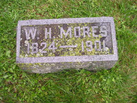 MORES, WH - Bremer County, Iowa   WH MORES