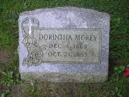 MOREY, DORINTHA - Bremer County, Iowa   DORINTHA MOREY