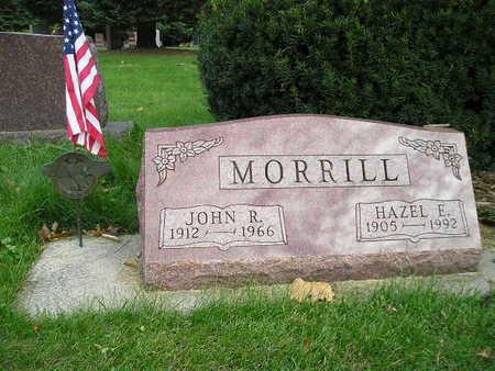 MORRILL, HAZEL E - Bremer County, Iowa | HAZEL E MORRILL