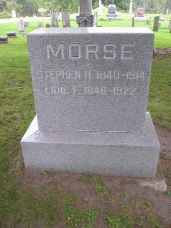 MORSE, LIDIE F - Bremer County, Iowa | LIDIE F MORSE