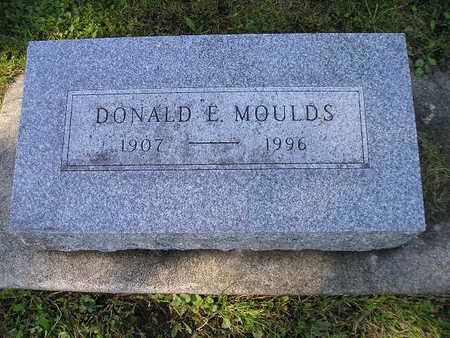 MOULDS, DONALD E - Bremer County, Iowa | DONALD E MOULDS