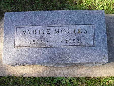 MOULDS, MYRTLE - Bremer County, Iowa   MYRTLE MOULDS